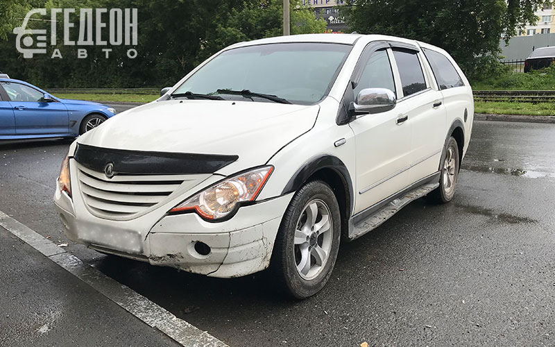 SsangYong Actyon Sports 2009 года